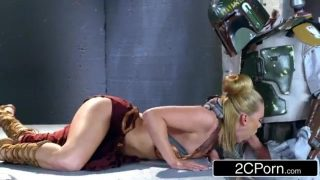 Slave Leia Mouth Fucked By Boba Fett