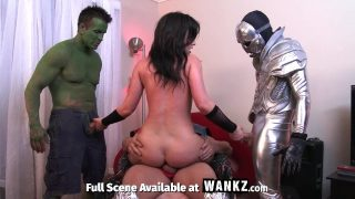 Avengers Assemble and Have a Massive Orgy In This XXX Parody